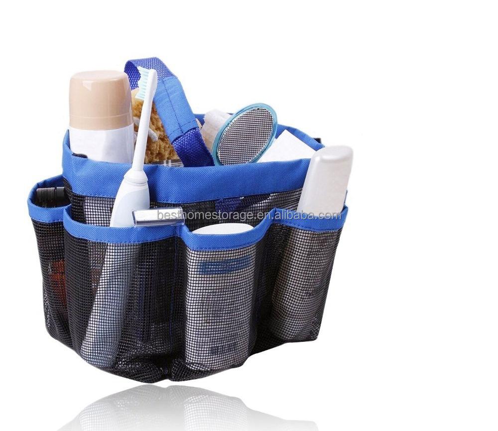 Bathroom Hanging Plastic Camping Shower Bag  Buy Clear