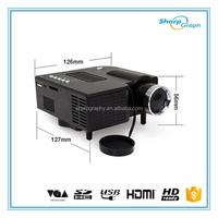 150 Lumens Full HD 3D Mini LED Beamer Proyector UC28+