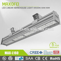 Top quality energy efficiency led warehouse light bar 20' with MeanWell driver