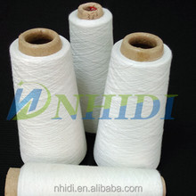 good reputation 58s close virgin 100%polyester spun yarn