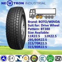 BOTO YOTO ECED 315/70R22.5 drive wheel mix mining bad road truck bus tyre manufacturer