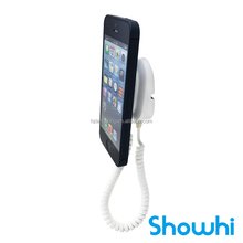 Showhi popular wall-mounting security display stand for cell phone with alarm XC5100+-IG