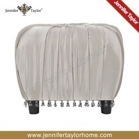 square Indian sex bedroom furniture pouf ottoman for hotel