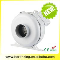 Hydroponic indoor grow light system ventilation centrifugal inline fan plastic inline fan
