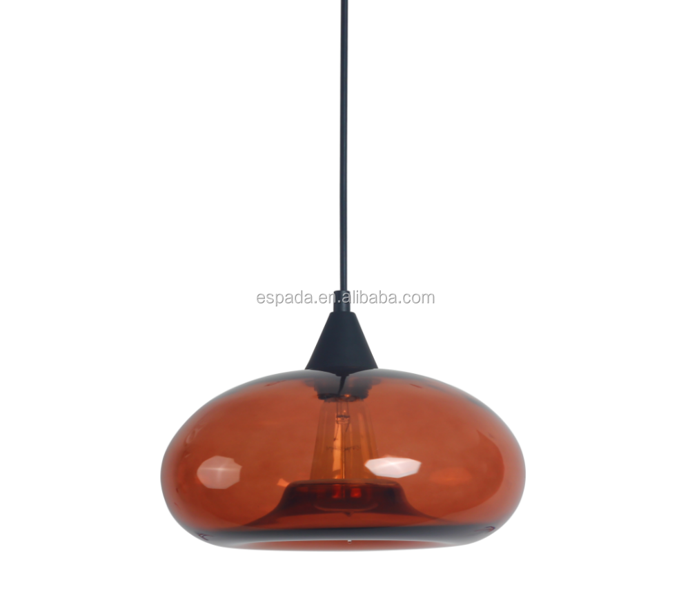 Modern Hand Blown Glass Pendant Lights
