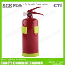 0.5kg portable dry powder fire extinguisher with plastic bracket