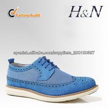 El zapato de cuero para hombre
