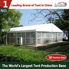 temporary catering structure / outdoor dining tents with glass wall