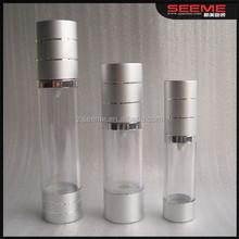 15ml 30ml 50ml 80ml 100ml 120ml kosmetik airless-pumpe flasche, hautpflegende kosmetische pumpflasche, leer lotion pumpflaschen
