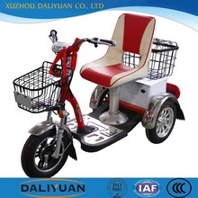 folding aluminum adult tricycle work tricycle for single