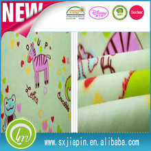 2015 alibaba hot sale cartoon soft touch blanket for babies