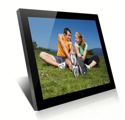 SH1701DPF customized photograph printing on frame 17 inch digital photo frame