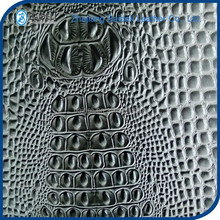 crocodile pvc artificial leather for car seat cover