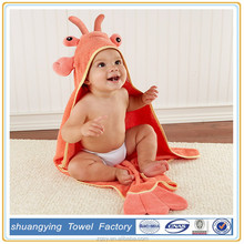 All Colors Available Dragon Pattern Hooded Baby Bath Towel/Your Own Logo Or Design Welcome