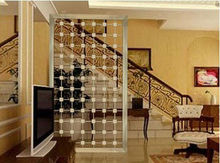 stainless steel living room partition wall home decor screen divider modern design idea