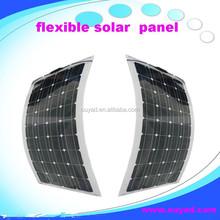 A great solar cells high efficiency flexible solar panel 100w, High Quality Semi Flexible Solar Panel