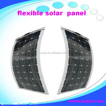 A great solar cells high efficiency flexible solar panel 100w, High Quality Semi Flexible Solar Panel