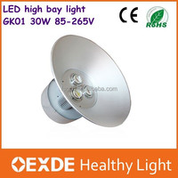 China factory price list 30w led high bay light , offer sample with 3 years warranty