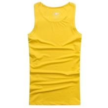 cheap plain sleeveless men's t shirt