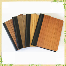 Perfect Christmas gift wood tablet case, for ipad case, wood genuine leather case for ipad