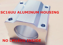 New 6pcs/lot CASE ONLY(NO LM16UU INSIDE) for SC16UU SCS16UU 16mm Linear Block CNC Router DIY CNC Parts