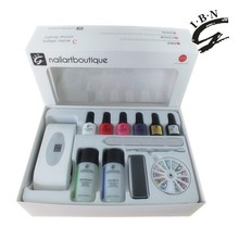 IBN high glossy all accessories included home gel manicure kit