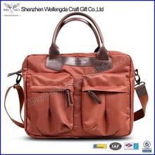 Top grade unique design cotton material 19 inch laptop bag for dell