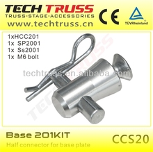 Base 201KIT on sale aluminum lighting truss base plate kit