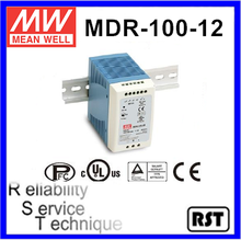 MDR-100-12 Single Output Taiwan Mean Well 90W 12V Industrial Din Rail Power Supply
