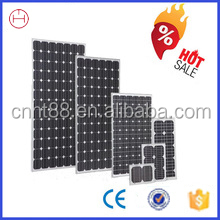 Top efficiency long lifetime 50w 12v solar panel with cheapest price