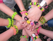 Silicone Rubber College Team Bracelets