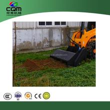 changqing nuovo 0511 skid steer usato motozappa per la vendita il prezzo competitivo