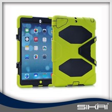 New Products Mix Color Tablet Cover Silicone Armor Case for iPad Mini Air 1 2 3 4