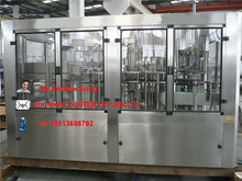 automatic 3 in 1 unit alcohol drink filling machine