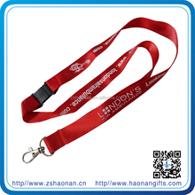 2cm nylon and polyester and car logo camouflage lanyards