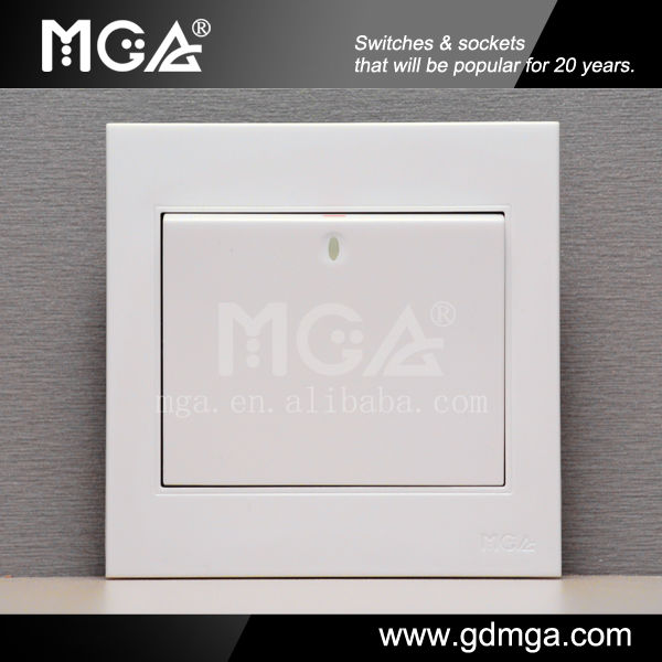 1 Gang 2 Way Switch Types Of Electronic Switches & Modern Light ...