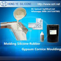 how to use liquid silicone to make statues gypsum mold