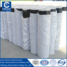 Cheap self adhesive asphalt roofing felt for underground waterproof
