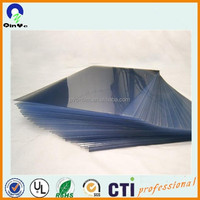 nature colour clear pvc rigid sheet in roll