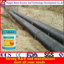 Chlorinated rubber Pitch pipeline Paint