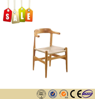 Restaurant chair dinning chair solid wood rattan beach chair for sale