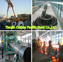 EXPAND PIPE END OF AWWA C200 STEEL PIPE