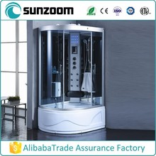 China wholesale d shape shower room,multifunctional shower room,shower room made in china