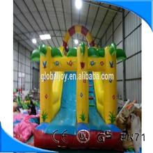Hot sale children's inflatable slide /inflatable water slide/inflatable double lane slip slide