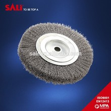 Alta calidad industrial metal cepillos de alambre, ronda cepillos circulares