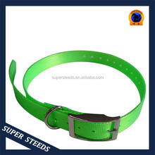 Hot selling flexible plastic dog collar for equipping beeper