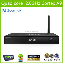 Zoomtak Android 4.4 Smart Tv Box M8 With Almogic S802 With 2g Ram And 8g Rom 14.2 XBMC M8 Android Smart Box