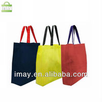 Colorfull hot sale promotional non woven shopping bag