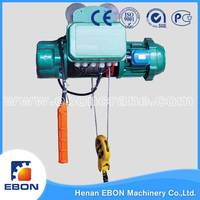 CD And MD Type Wire Rope Hoist International Certificated Electric Small Hoist