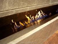 bioethanol fireplace 1400*250*3mm / ethanol fireplace china / Temperature display screen fireplace